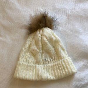 Loft Pom Pom Winter Hat